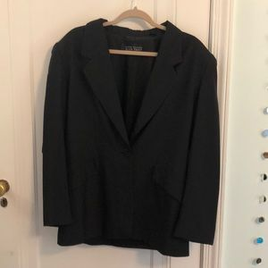 Ellen Tracy Black Silk jacket